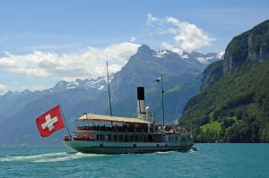 Luzern Boat Flag