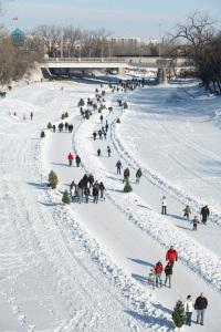 Winnipeg Festival Outdoor Skating