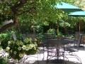 iron gate patio